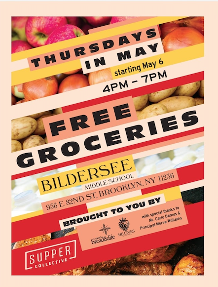 **Free Groceries for Families** Featured Photo