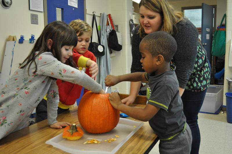 Kindergarten and Pumpkins Featured Photo
