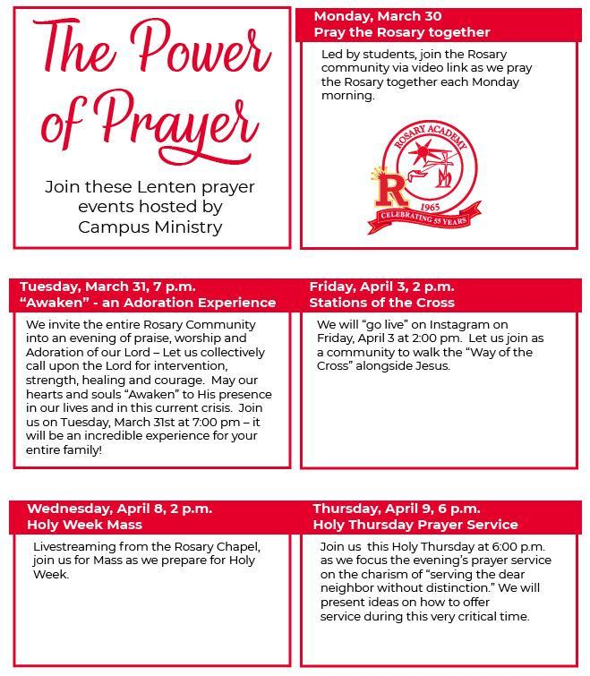Campus Ministry Events