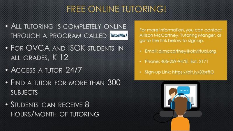 ISOK Offers Free Tutoring! Featured Photo