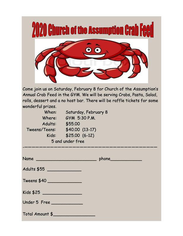 Crab Feed Parish
