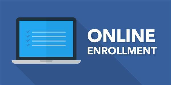 Online Enrollment Computer Picture