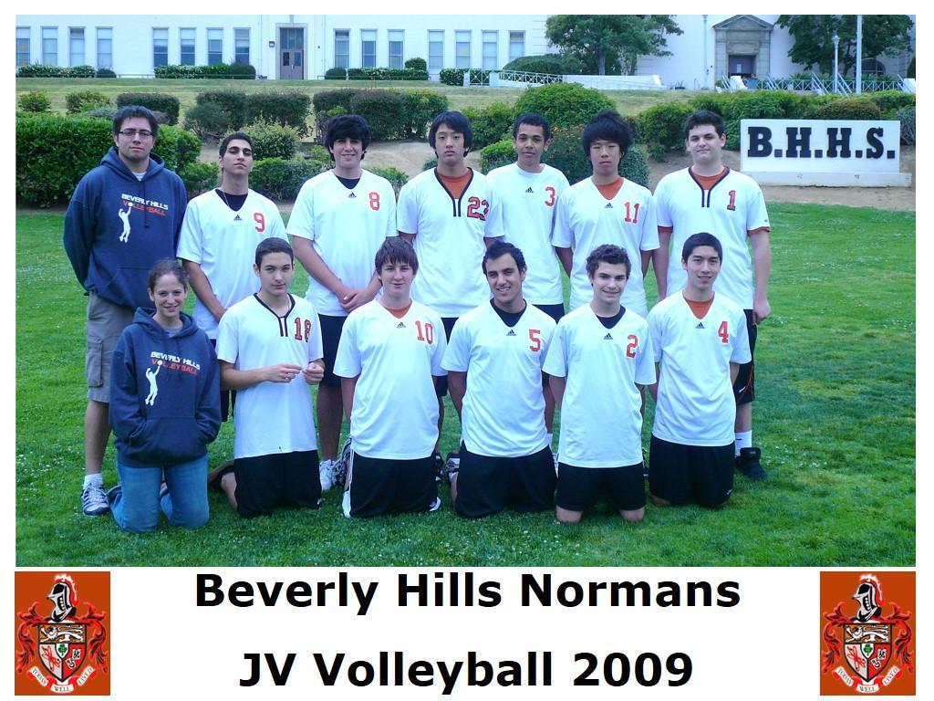 2009 JV Volleyball