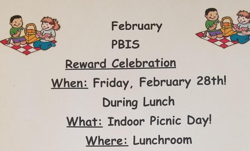 February PBIS Celebration