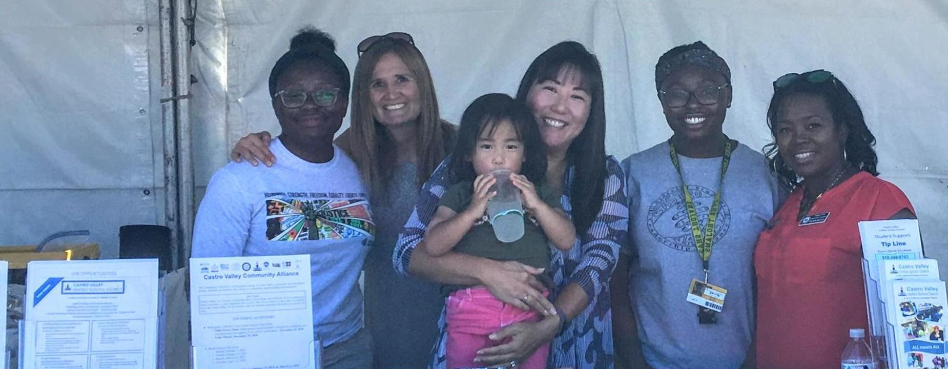photo of staff at Fall Festival