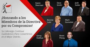 Picture of School Board Members Spanish