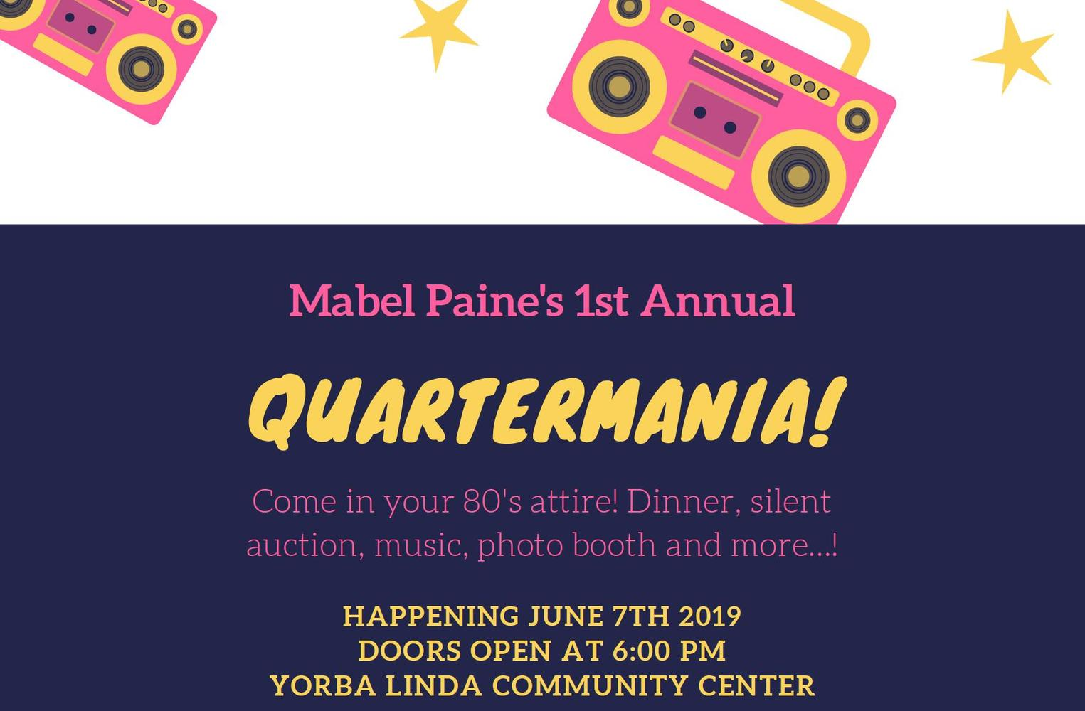 1st Annual Quartermania on June 7