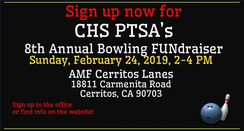 8th Annual PTSA Bowling FUNdraiser at Cerritos Lanes Featured Photo