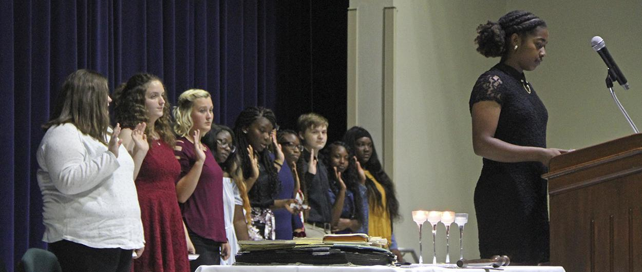 National Honor Society Induction 2019