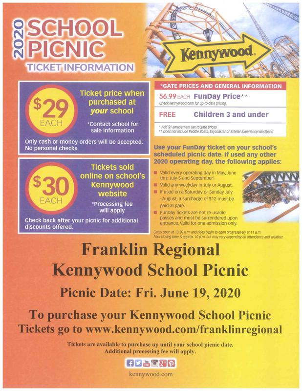 Kennywood Ticket Sale poster