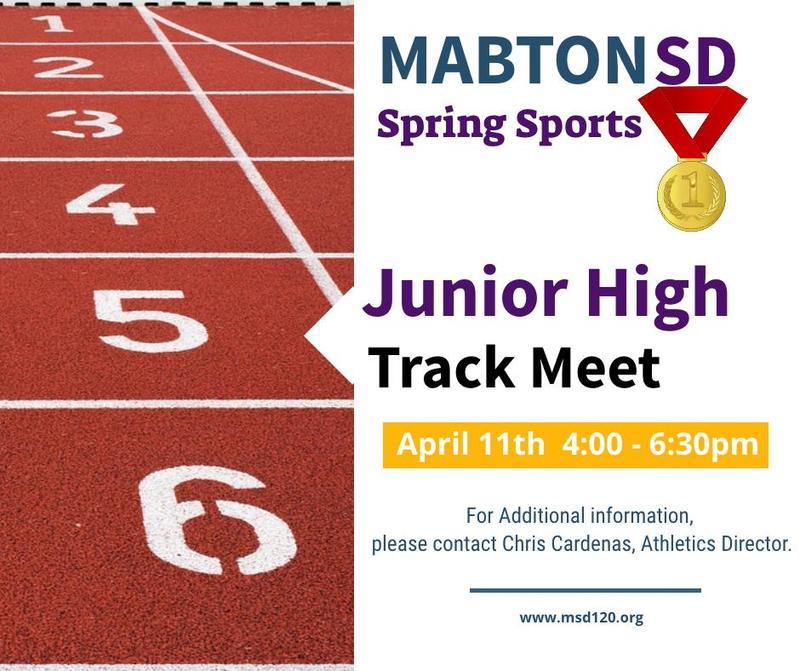 Image, Spring Sports Junior High Track Meet