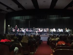 All-Region band performance