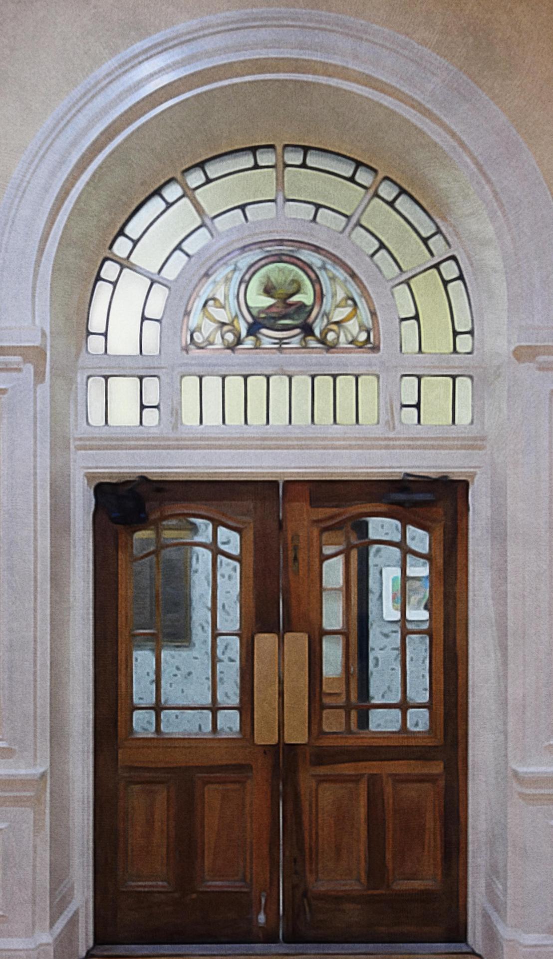 SJB Stained Glass Window