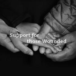 Support for Those Wonded