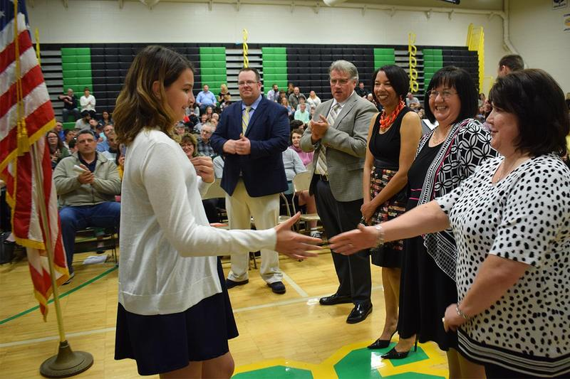 CMS students inducted into NJHS Thumbnail Image