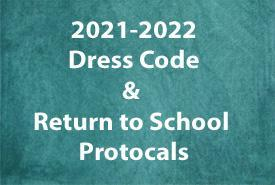 Dress Code & Return to School Protocols Featured Photo