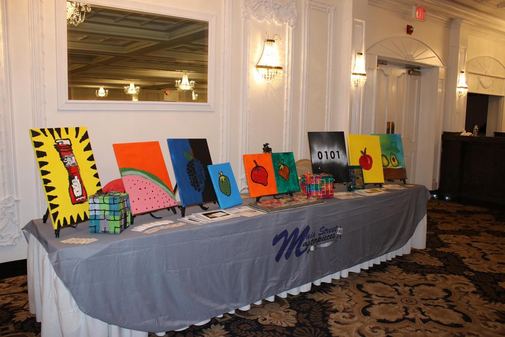 Artwork displayed at 2018 Stars Gala