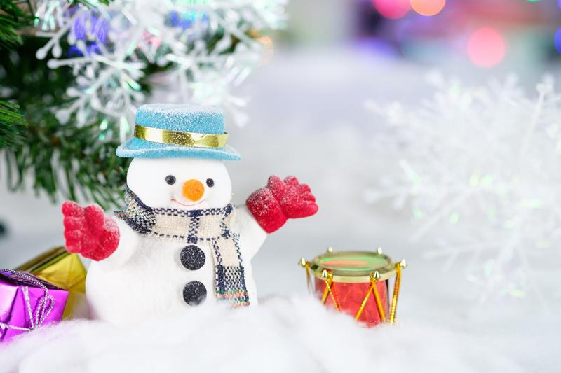 december enlightenment snowman