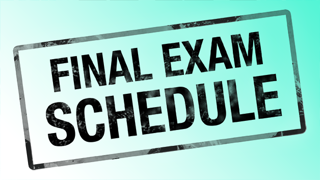 Finals Schedule December 2018 Thumbnail Image
