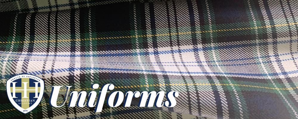 HHCA Dress Code and Uniform Information