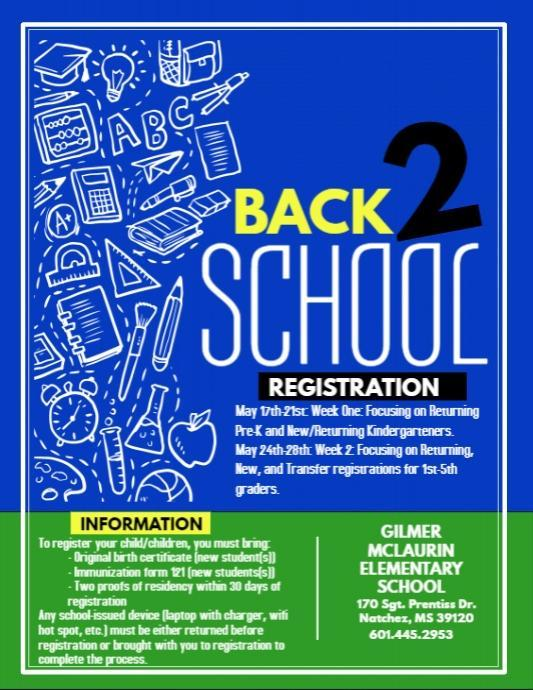 Registration for McLaurin