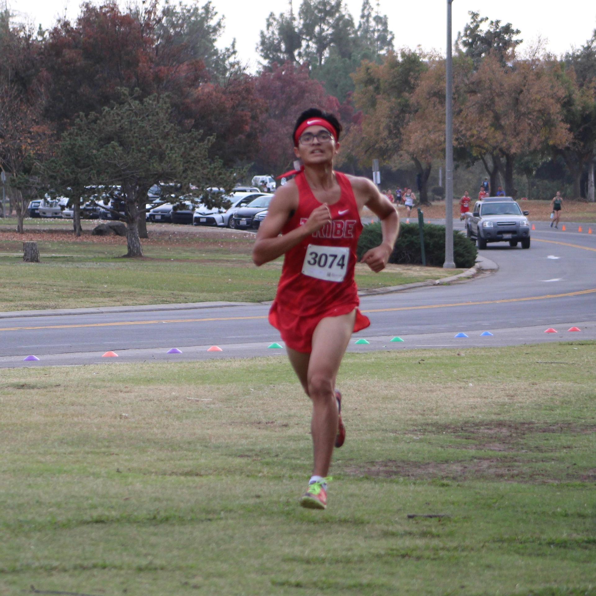 Angel Ramirez running