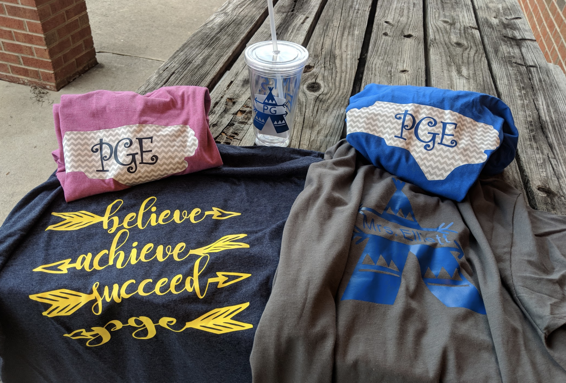 Welcome Gifts:  Shirts and Cup