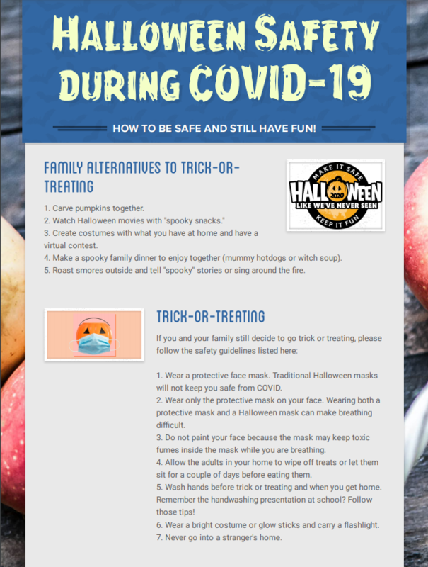 Halloween Safety-Covid 19 Featured Photo