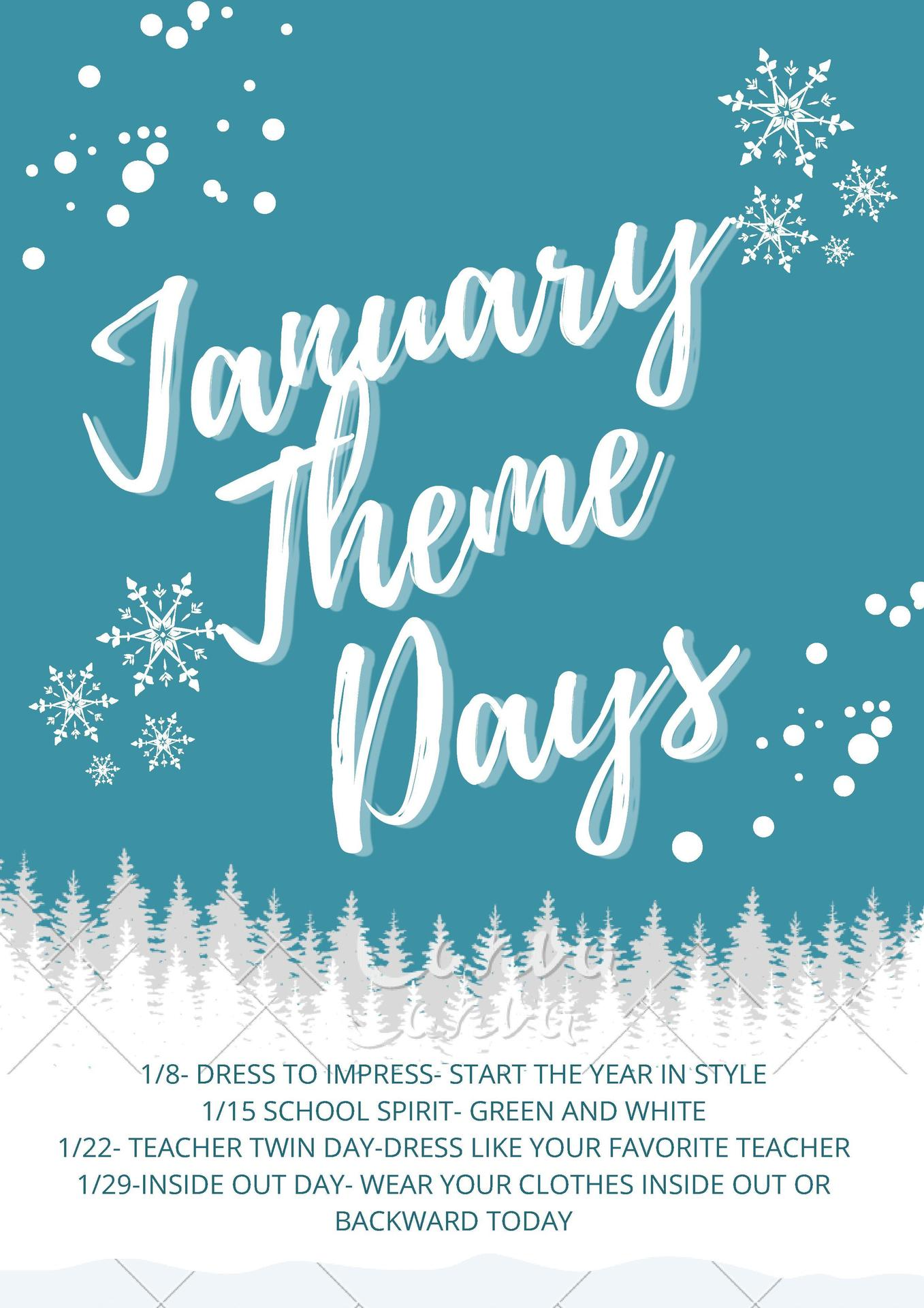 January Theme Days