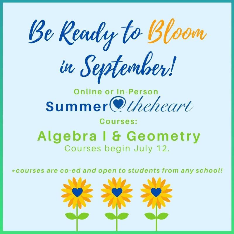 Summer@theheart Courses - Algebra I + Geometry Thumbnail Image