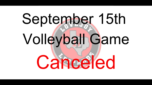 Volleyball Game Canceled This Evening Featured Photo