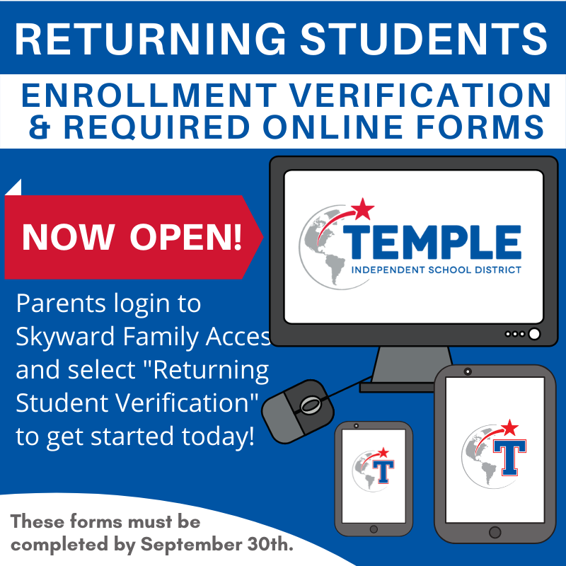 RETURNING STUDENTS ENROLLMENT VERIFICATION Featured Photo