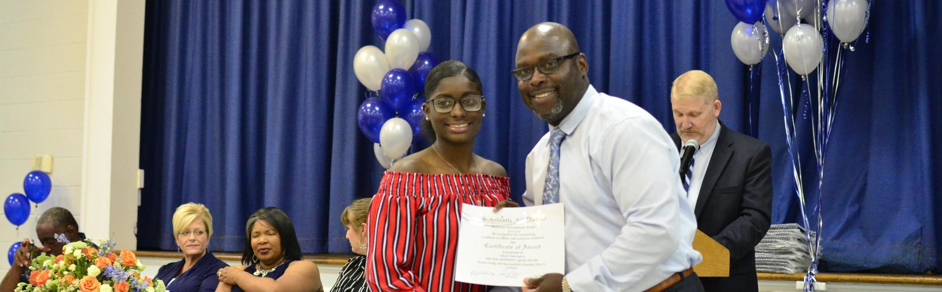 Scholastic All District Athletic Team Taliyah Washington