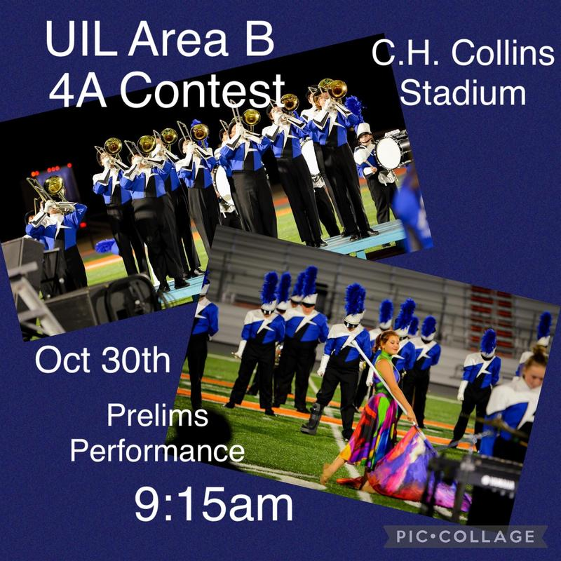 UIL Area 4B Band Contest Thumbnail Image