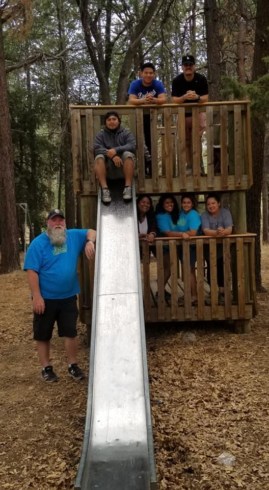 Middle School Camping Staff