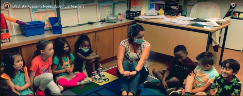 Westlake Academy is Seeking Substitute Teachers! Featured Photo