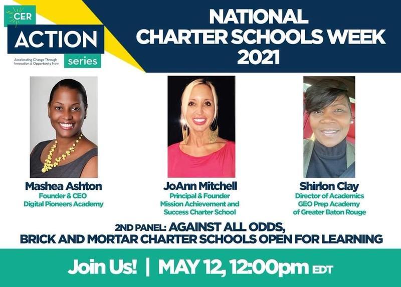 NATIONAL CHARTER SCHOOL WEEK 2021 Featured Photo