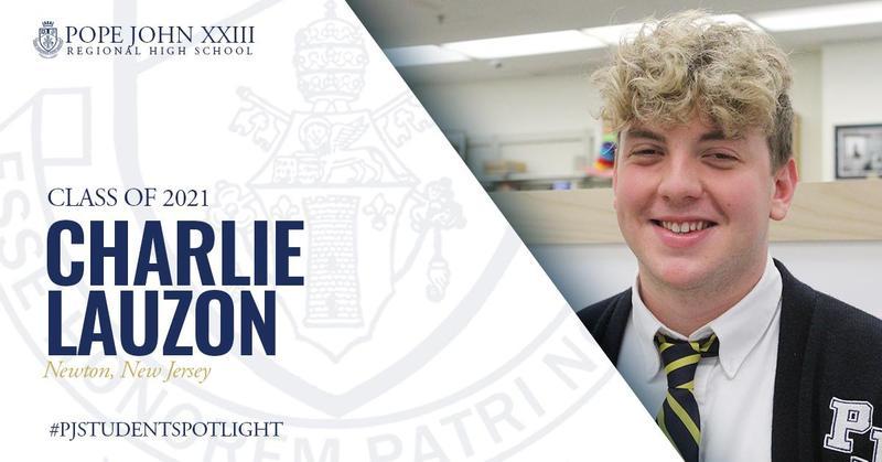 Charlie Lauzon PJ Student Spotlight