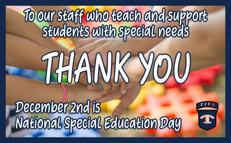 December 2nd is National Special Education Day Featured Photo