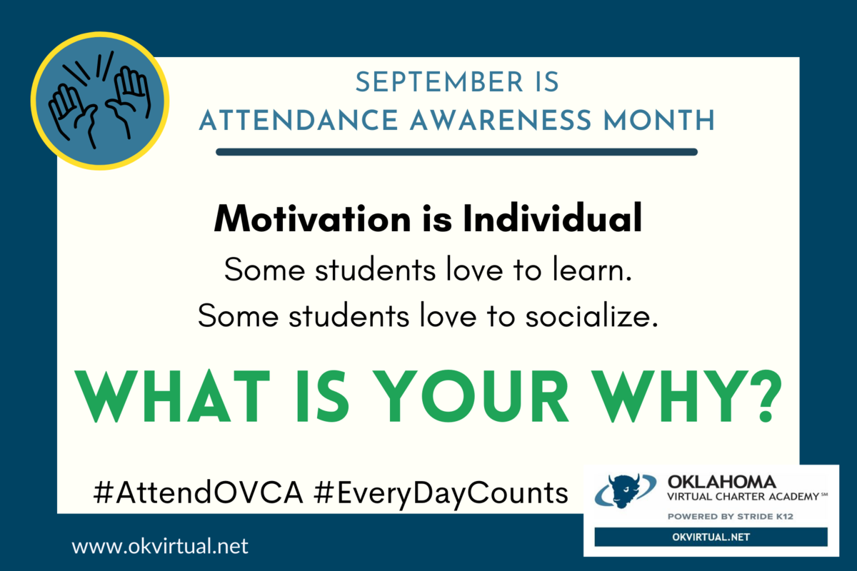 graphic - attendance awareness month