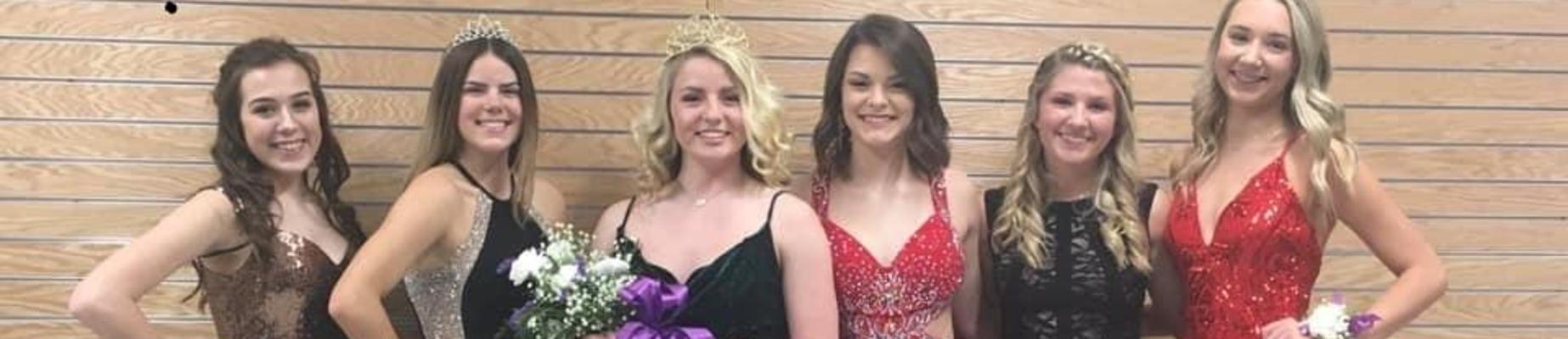 Paige Hicks crowned 2020 Courtwarming Queen