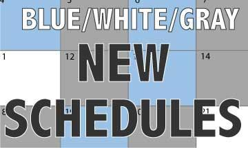 schedule blog