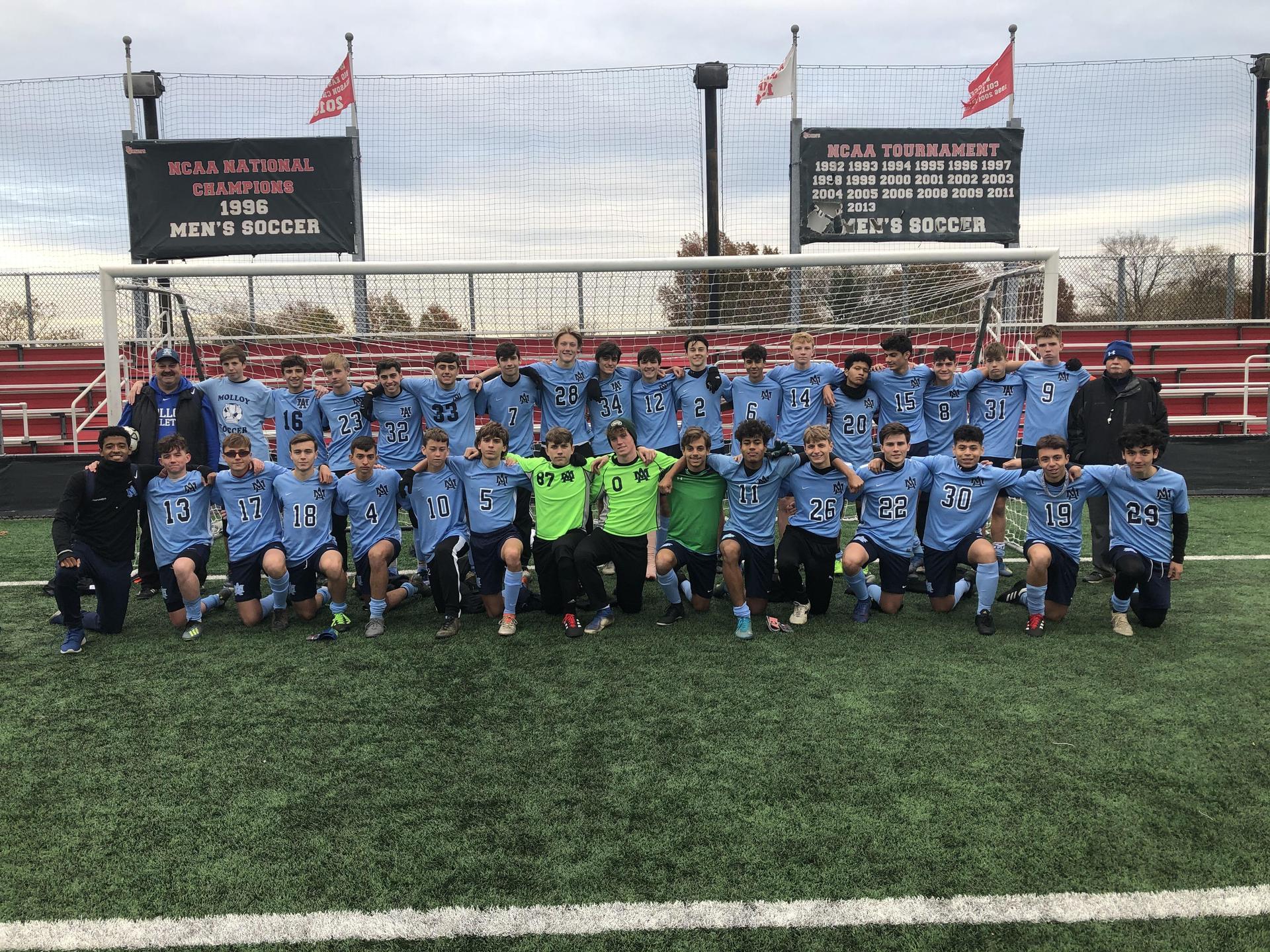 Varsity Soccer: B/Q Champions State Finalist