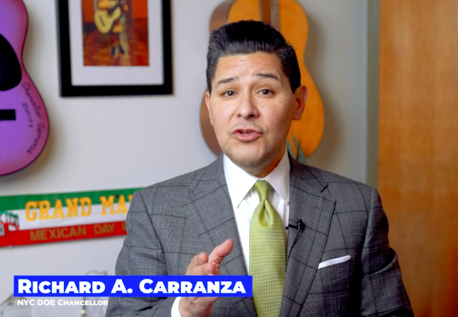 Picture of Richard Caranza the chancellor of the board of education