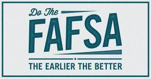 FREE APPLICATION for FEDERAL STUDENT AID (FAFSA) IS AVAILABLE! Featured Photo