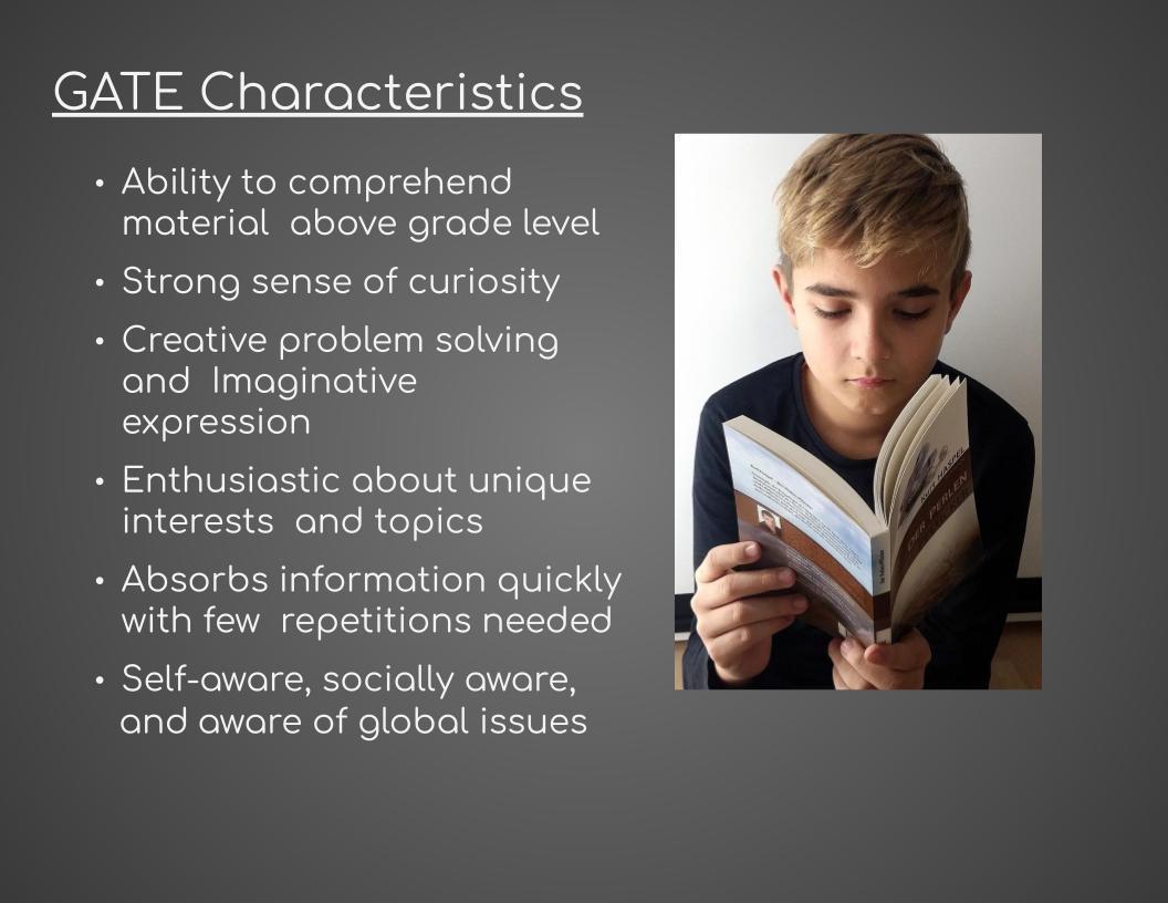 GATE Characteristics