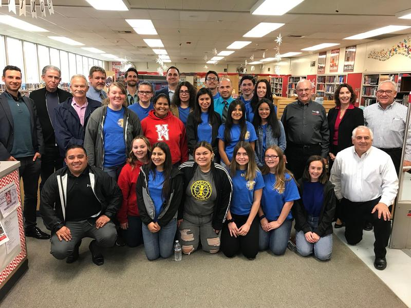 North High Interact Students Host Lunch With the North Bakersfield Rotary Club Thumbnail Image