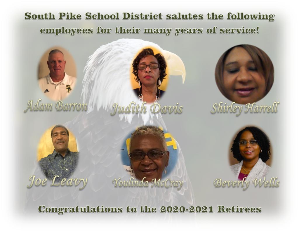 2020-21 Retirees