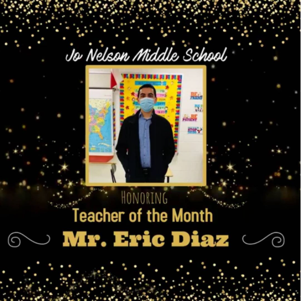 Teacher of the Month Featured Photo
