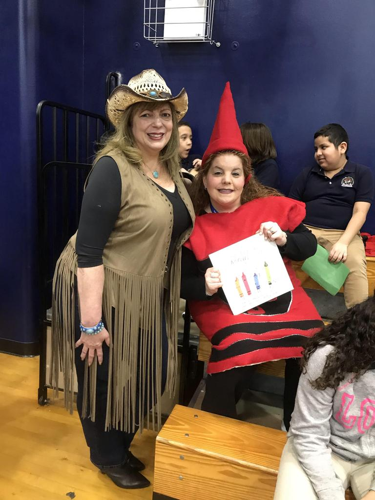cowgirl and red crayon teacher